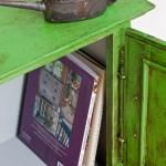Antibes Green and Dark Wax