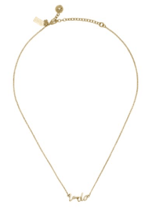 Kate spade I Do Necklace