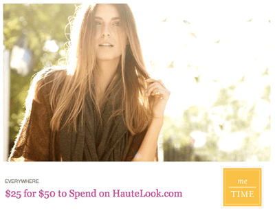 HauteLook coupon