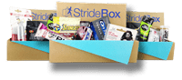 StrideBox - a subscription box for runners