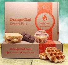 Orange Glad: Gourmet Dessert Subscription Box