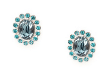 Swarovski Nocturne Flower Stud Earrings