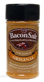Bacon Salt - Stocking Stuffers for Men - FantabulouslyFrugal.com 2012 Holiday Gift Guide - #giftguide #stockingstuffers