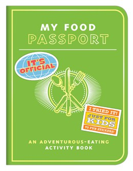 My Food Passport - Gifts for Kids - #giftguide