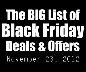 A huge list of Black Friday deals and discounts