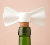 Bow Bottle Stopper - - Stocking Stuffers for Women - FantabulouslyFrugal.com 2012 Holiday Gift Guide - #giftguide #stockingstuffers