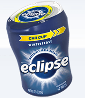 Eclipse Gum Car Cup