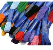 Embroidery Floss - Stocking Stuffers for Women - FantabulouslyFrugal.com 2012 Holiday Gift Guide - #giftguide #stockingstuffers