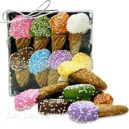 Ice Cream Cone Doggie Treats - Gifts for Dogs