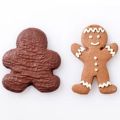 Chocolate Covered Gingerbread Man