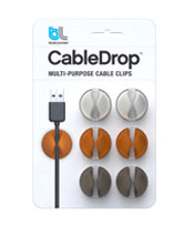 cabledrops cable clips - Stocking Stuffers for Men - FantabulouslyFrugal.com 2012 Holiday Gift Guide - #giftguide #stockingstuffers