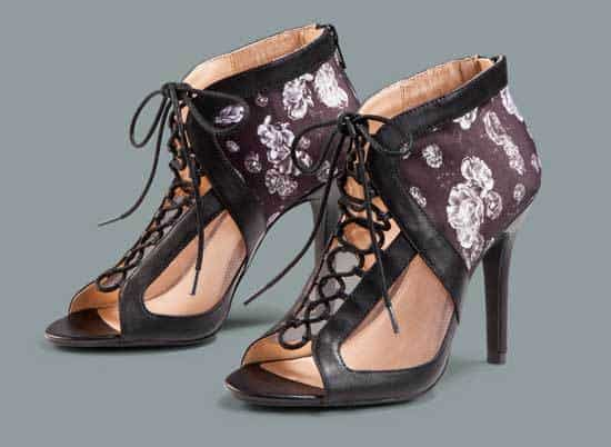 Prabal Gurung for Target Lace-up heels in Meet the Parents print, $39.99