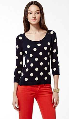 Lucky Polka Dot Sweater