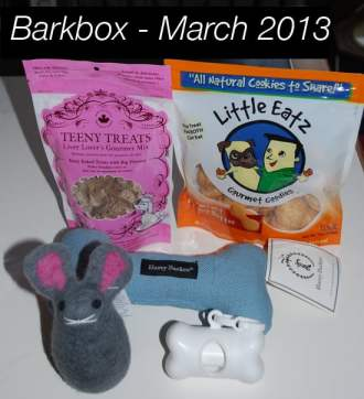 BarkBox March 2013