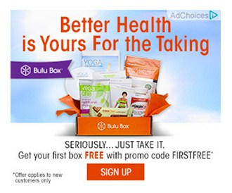 Bulu Box Coupon - First Month Free