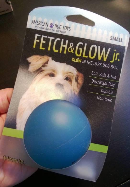 Amerian Dog Glow Balld