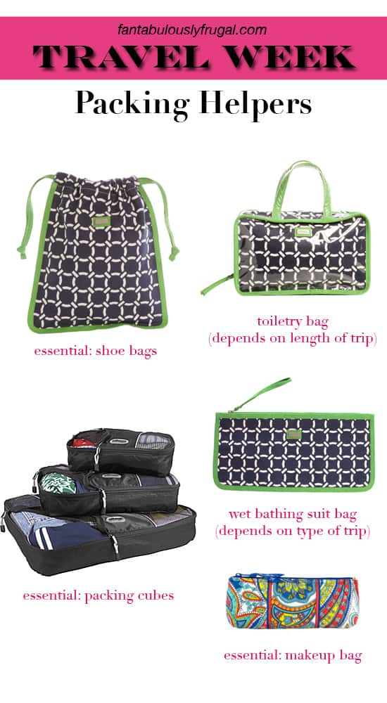 Packing Helpers: Pack More Efficiently with these 5 Bags