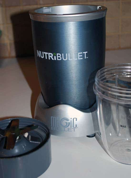 Nutribullet Review: Only 3 parts needed
