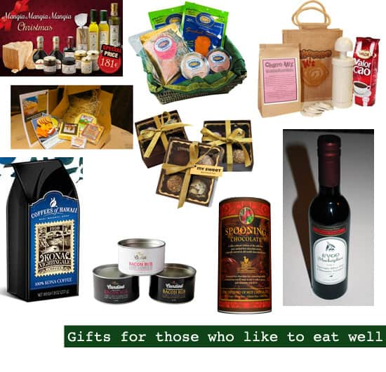 2013 Holiday Gift Guide: Gifts for Foodies