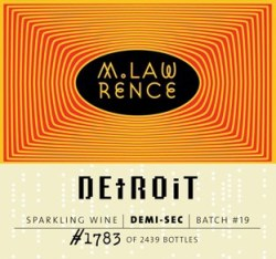 2013 Holiday Gift Guide: L.Mawby Detroit Sparkling Wine