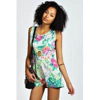 mona floral playsuit