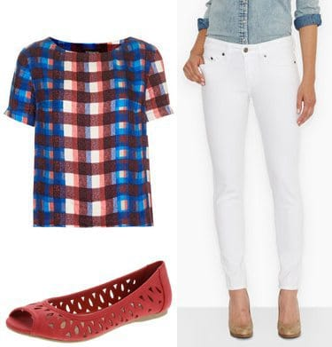 Casual Friday: Red White and Blue