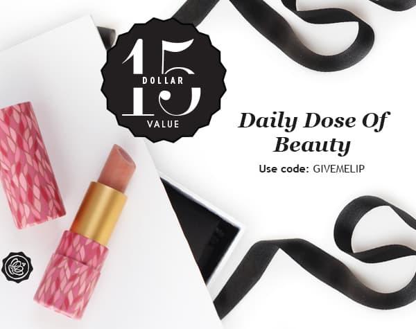 Glossybox Coupon: Free Tarte Lipstick