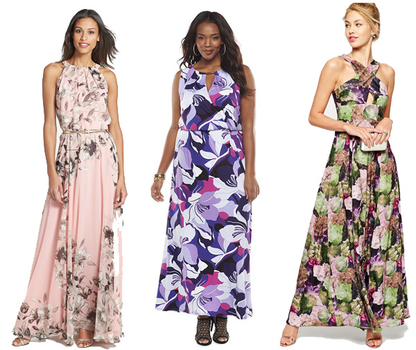 Wedding Wednesday: Floral Dresses to Wear to Spring & Summer Weddings