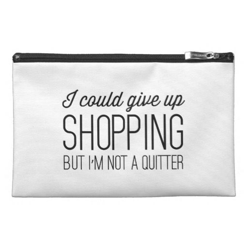 I Could Give UP Shopping Accessory Bag