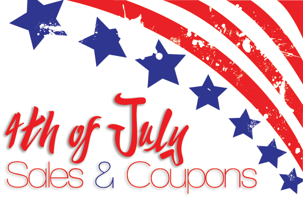 4th of July Sals & Coupons | ShopGirlDaily.com