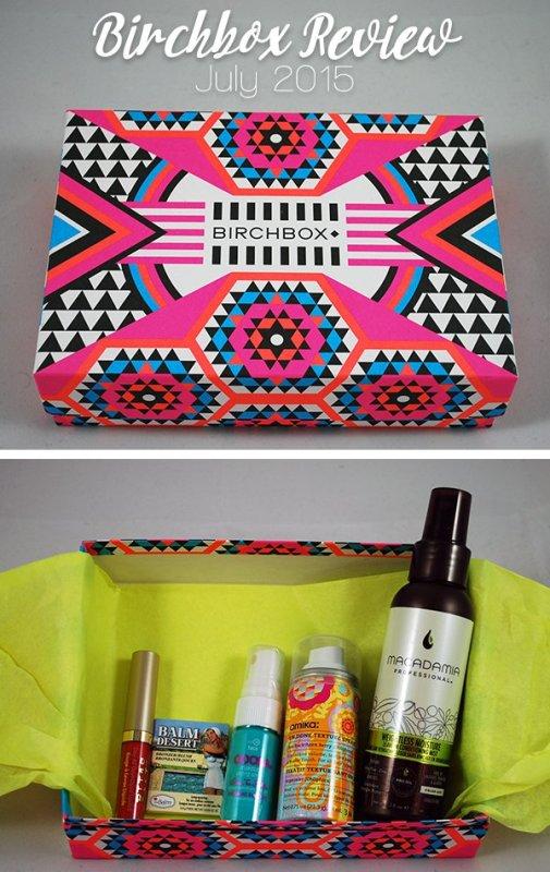 Birchbox Review - July 2015 | ShopGirlDaily.com