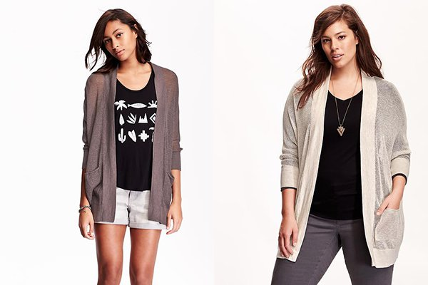 Open Front Cardigans at Old Navy