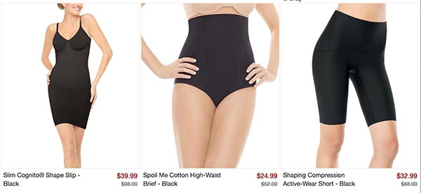 Spanx Sale at Zulily