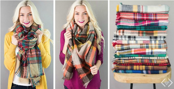 Knit Scarves from My Cents of Style