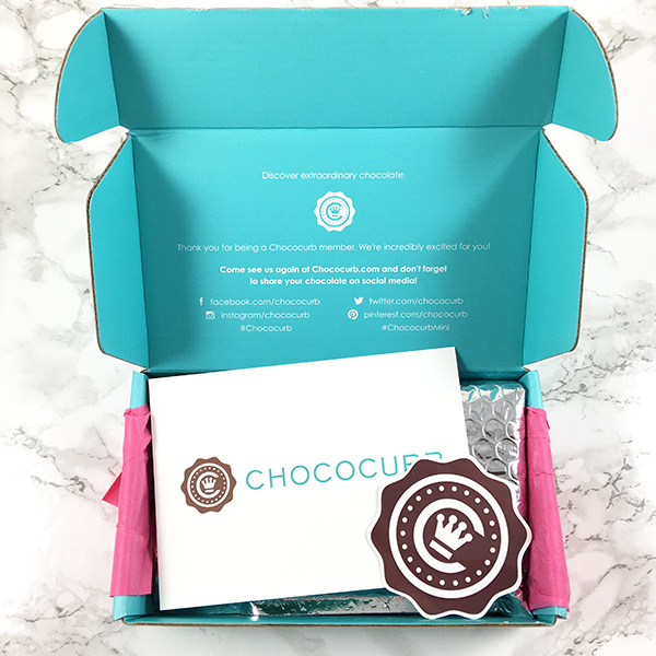 Chococurb Mini Box: Gourmet Chocolate Delivered to Your Door