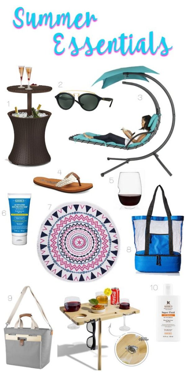 Summer Essentials for Mom