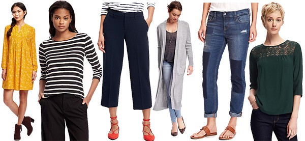 Update Your Fall Wardrobe with Fab Finds from Old Navy... and Save 40% On Everything!