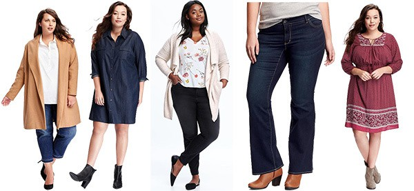 Plus size finds from Old Navy