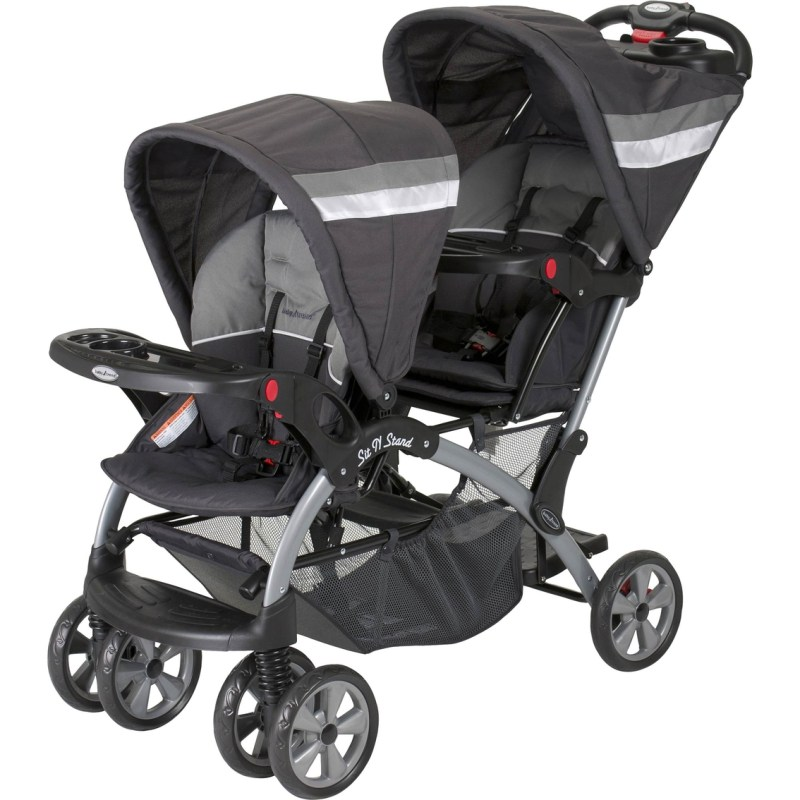 Large Of Baby Trend Sit And Stand Double Stroller