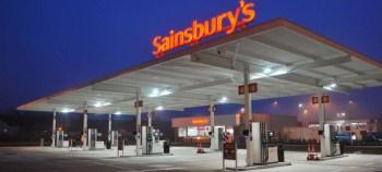 Sainsburys petrol station