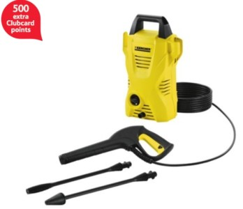 Karcher K2 Compact Pressure Washer 500 clubcard points
