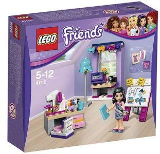 LEGO friends emma workshop extra clubcard points tesco