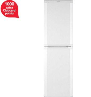 Beko Combi Fridge Freezer, CS5824W - White