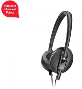 Sennheiser HD 2.10 On-Ear Closed Back Headphone - Black