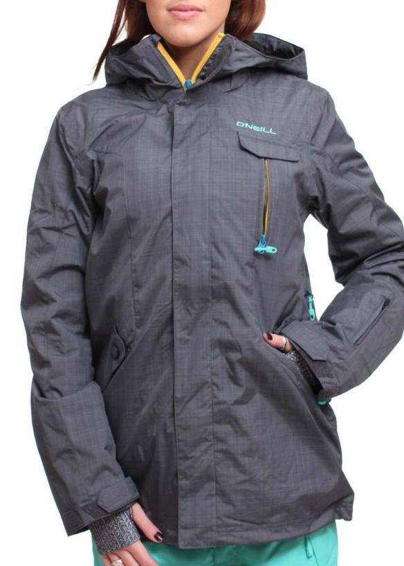 ONEILL RAINBOW SNOW JACKET New Steel Grey