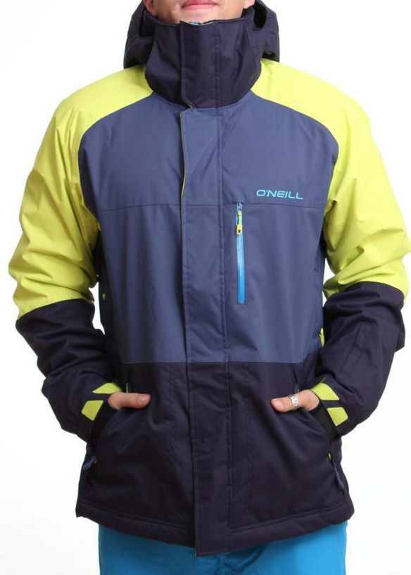 ONEILL DISTRICT SNOW JACKET Poison Yellow