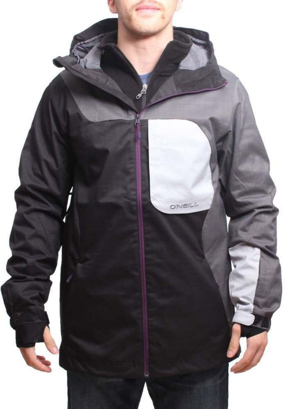 ONEILL PMEX LINE UP SNOW JACKET Black Out