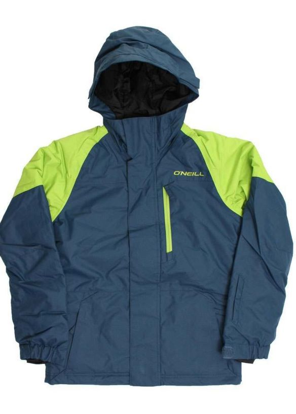 ONEILL BOYS VOLTA SNOW JACKET Blue Wing Teal