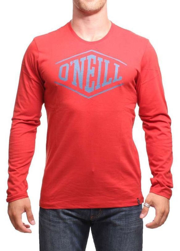 ONEILL EASY LIFE L/S TOP Rust Red