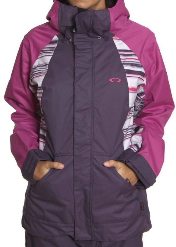 OAKLEY NEW KARING SNOW JACKET Lavendar/Purple